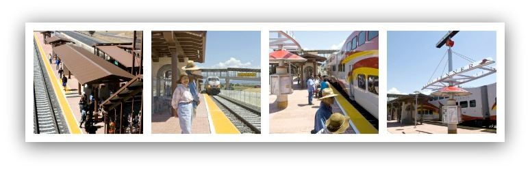 Collage of Photos From Santa Fe County 599 Station