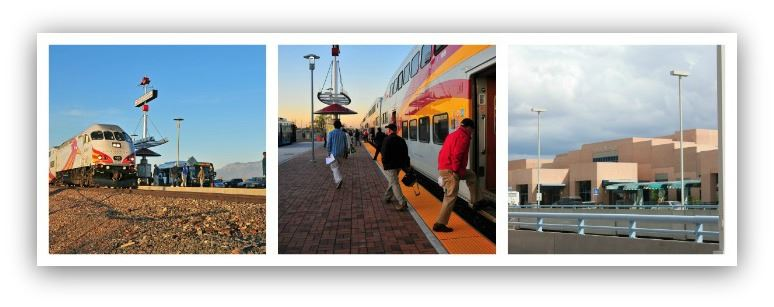 A Collage of Photos from the Bernalillo County Station